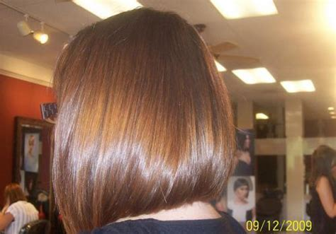 long graduated bob haircut back long bob hairstyles back view