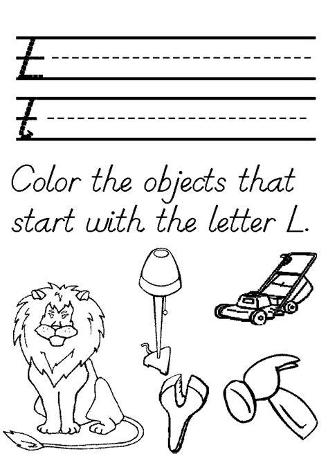 preschool coloring pages letter l letter l coloring page coloring home