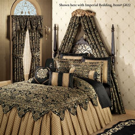 bed crowns flowering medallion aged gold wall teester bed crown