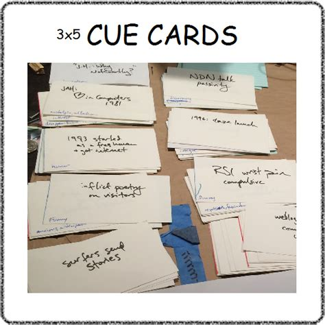 cue card mc template students cue cards freepowerpointtemplates free
