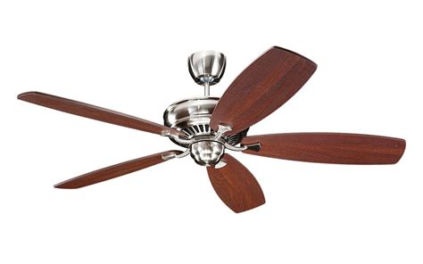 monte carlo ceiling fan replacement parts lightingshowplace com 5bhbs in brushed steel by monte carlo