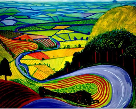 Landscape Pictures By David Hockney David Hockney History Styles Of Wiki