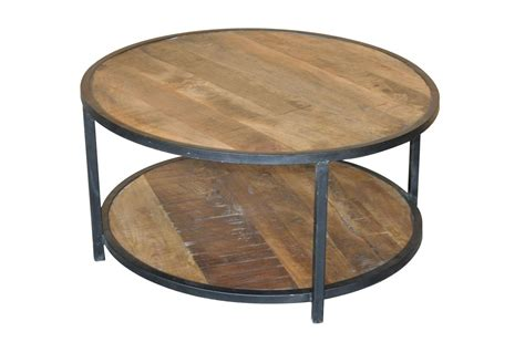 Otb Sawan Finish 36 Inch Round Coffee Table   Living Spaces