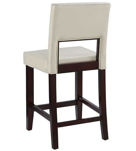 24 inch high bar stools 24 inch vega counter stool white in counter height bar