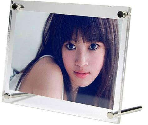 frameless photo 5x7 clear acrylic frameless picture frame buy frameless