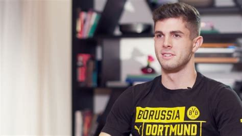 christian pulisic messi christian pulisic boyhood idol lionel messi has edge over