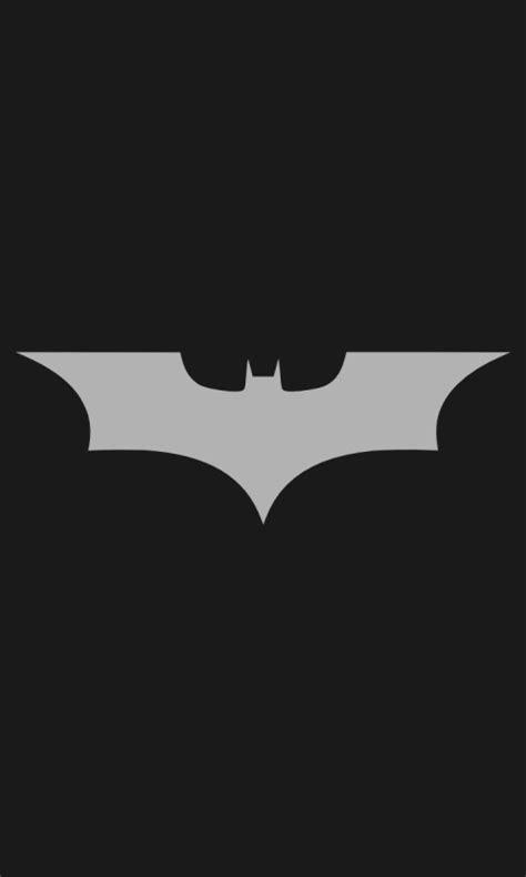 batman wallpaper nokia lumia 480x800 minimalistic batman logo lumia 900 wallpaper