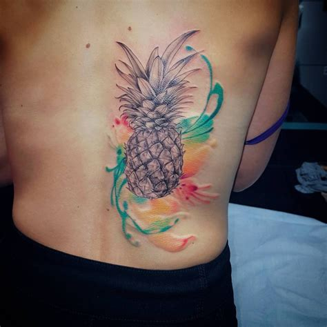 pineapple tattoo meaning 21 pineapple designs ideas design trends