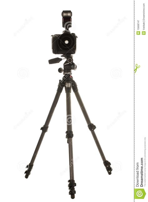Tripod Flash tripod and with flash royalty free stock photography image 15668747