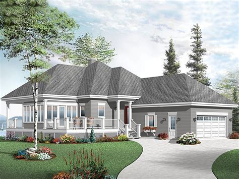 Vacation House Plan by Waterfront House Plans Waterfront Home Plan Makes A