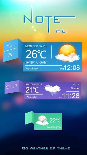 temperature theme download for pc download notes go weather widget theme for pc