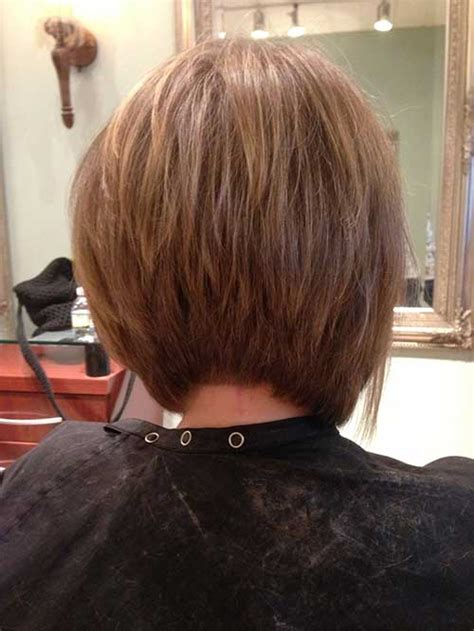 back of aline hair cuts 15 best back view of bob haircuts short hairstyles 2016