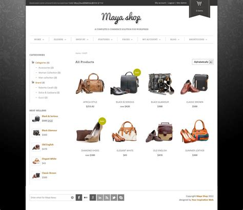 themes online store wordpress 20 th 232 mes wordpress e commerce