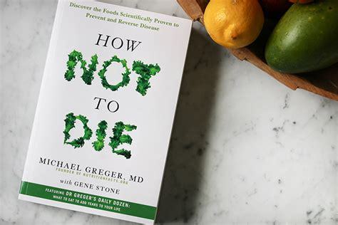 Bookreview: How not to die   The Green Creator