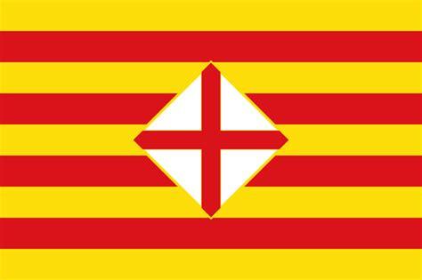 barcelona flag file flag of barcelona province svg wikimedia commons