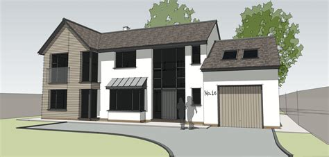 modern house designs floor plans uk woking house re modelling gets planning permission