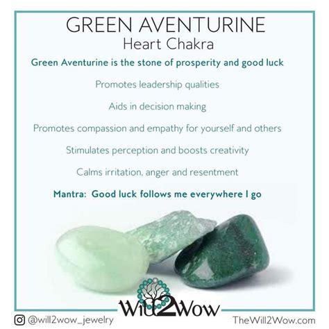 green aventurine healing properties httpwwwthewillwow