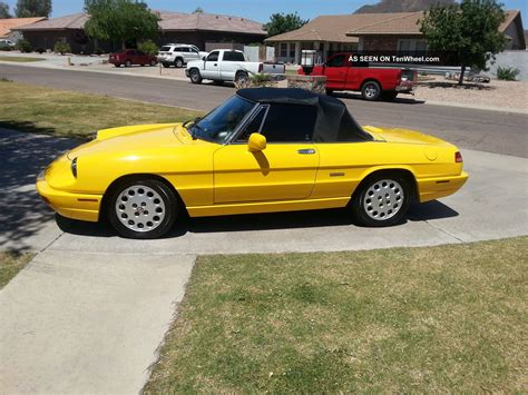 1993 Alfa Romeo Spider by Service Manual 1993 Alfa Romeo Spider Transmission