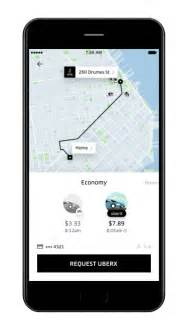 Car Rental App Like Uber Uber App Gets Major Makeover With Uber Feed And Neat Time