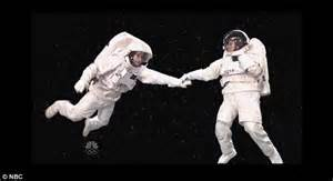 Out Of This World Without Any Space Influence In Sight by Snl Mocks Government Shutdown With Gravity Skit Daily