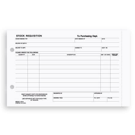 reqcc 574 stock requisition form