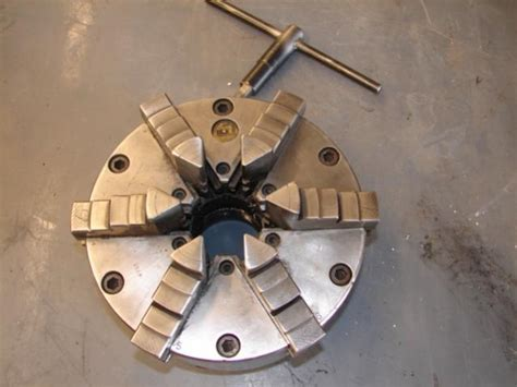 buck chuck parts f s buck six jaw chuck 2 1 4 8 threaded