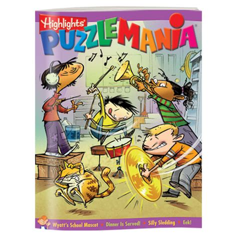 printable puzzle mania puzzlemania 174 4 book set highlights for children