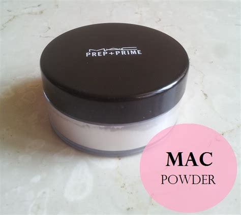 Mac Translucent Powder mac prep prime transparent finishing powder review and