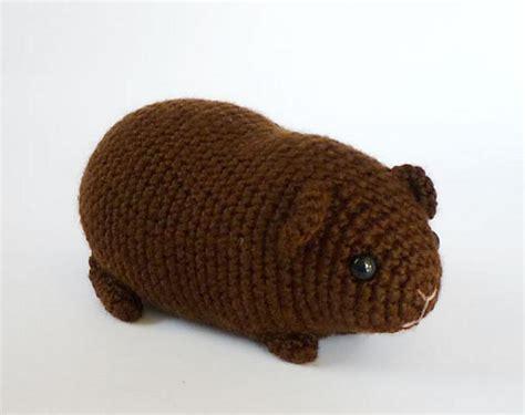 pattern crochet guinea pig chubby guinea pig crochet patterns lovecrochet