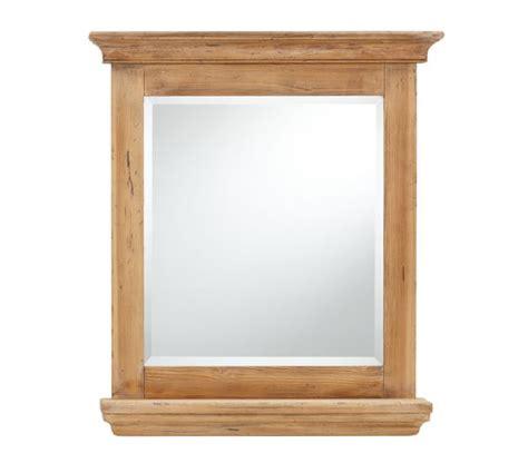 reclaimed wood mirror reclaimed wood mirror with shelf wax pine finish