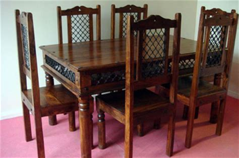 Dining Room Furniture India by Thakat Jali Dining Set Sheesham Dining Set India Dining