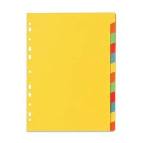 marbig erasable 12 tab dividers coloured staples now winc