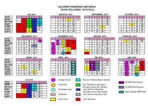 Kalender 2018 Departemen Agama Kalender Akademi 2015 2016 Argowulas