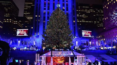 rockefeller center christmas tree lighting what to know