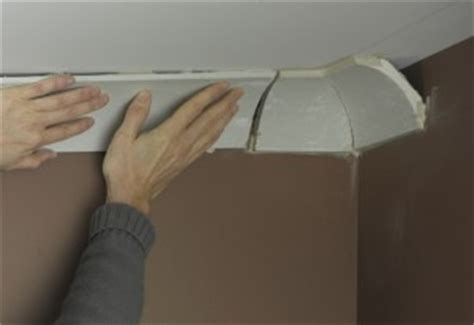 coving corner template fitting coving