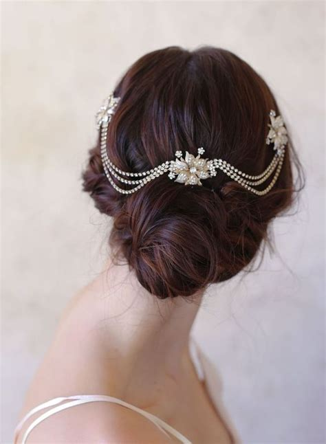 updo swag 25 perfect hair accessories for a vintage bride updo