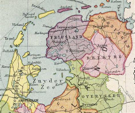 netherlands friesland map friesland netherlands map images