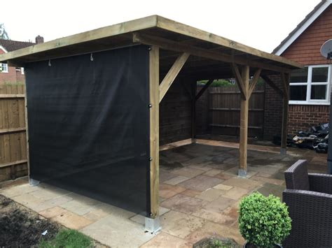 modern gazebo large modern timber gazebo 5 92 x3 40m