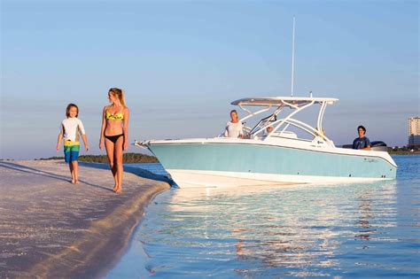 edgewater boats dual console edgewater launches new 248 crossover 24ft dual console