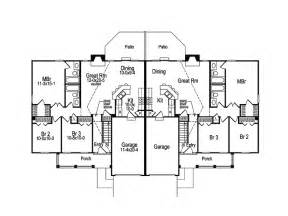 family home floor plans two family home designs home and landscaping design