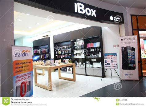4 Apple Store Indonesia ibox outlet in cilandak town square jakarta editorial