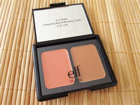 Silkygirl Shimmer Duo Blusher 04 Glow e l f studio contouring blush bronzing powder review makeupfu