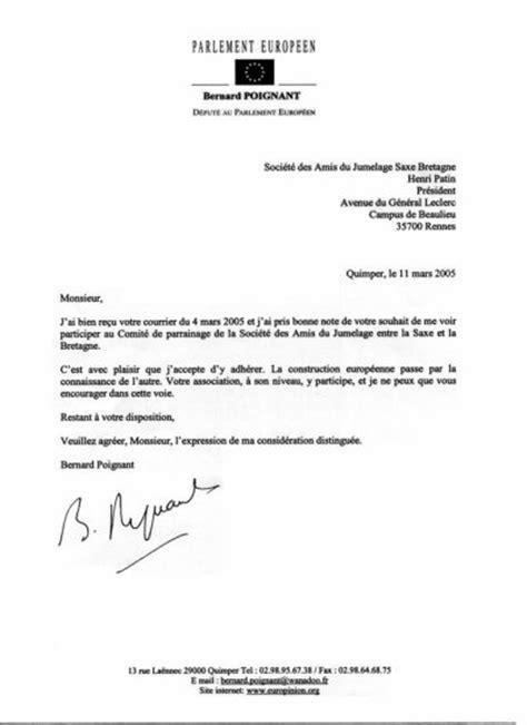 Exemple De La Lettre Administrative Lettre Administrative