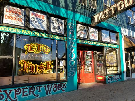 lit fuse tattoo ink your style 5 parlors in downtown olympia