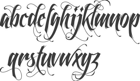 tattoo fonts gangster the 25 best script fonts ideas on