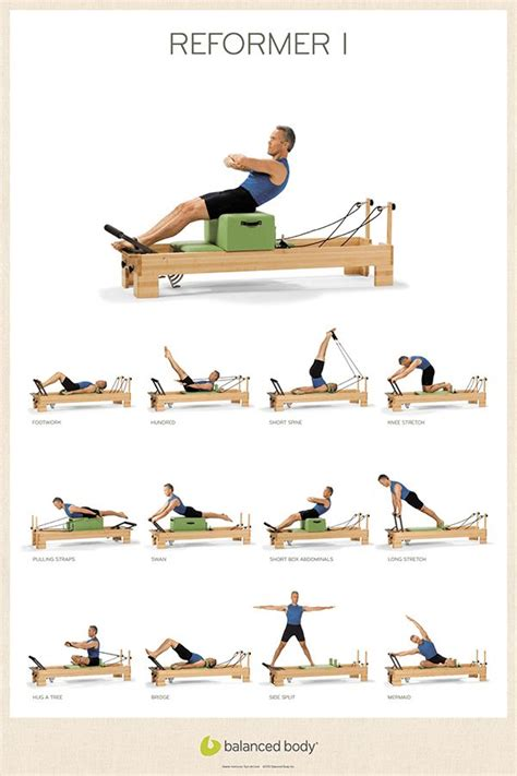 best 20 pilates reformer exercises ideas on