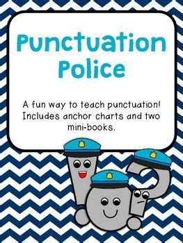 the punctuation station books punctuation anchor charts and mini books