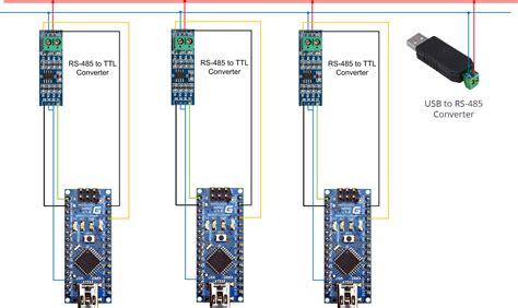 подключение конвертера rs 485 в ttl к arduino adatum