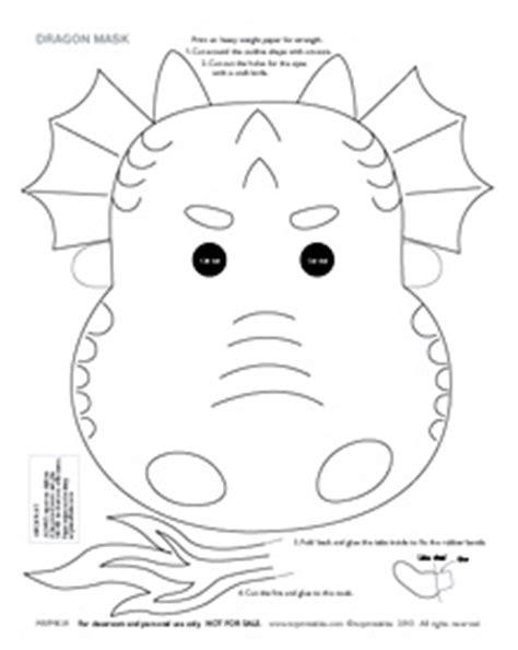 printable dragon mask template chinese dragon face mask template car interior design