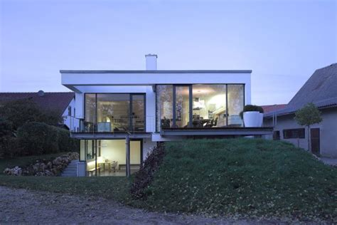 Bi Level House Floor Plans a split level house built in a difficult area of germany